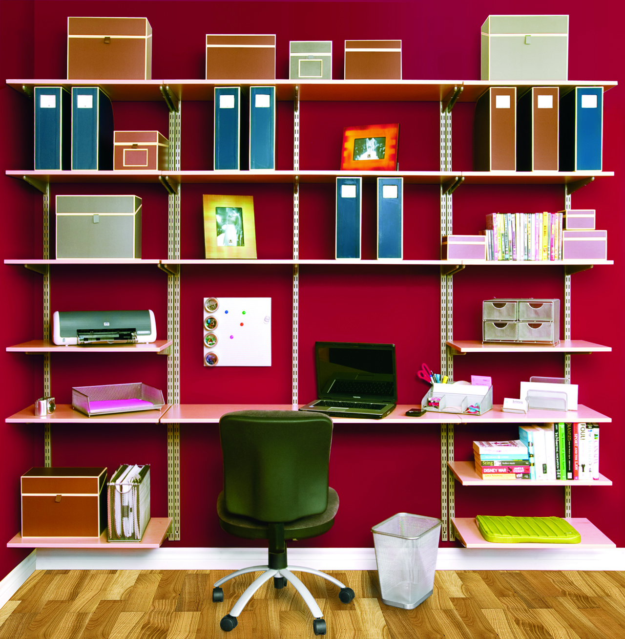 Creative ideas to organize your home office Home office organization ideas